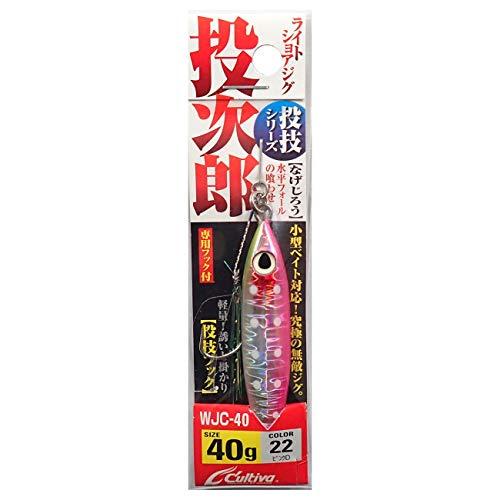 オーナー(OWNER) メタルジグ WJC-40 投次郎40 No.31995 22 ピンクD