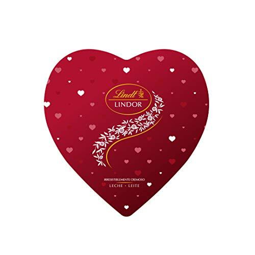 Lindt Lindor Lata Corazón de San Valentín - Bombones de ch
