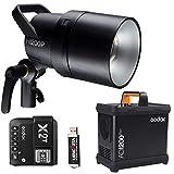Godox AD1200 Pro Flash Studio 1200 W HSS TTL 2,4 GHz Récepteur intégré avec émetteur X2T F pour les portraits en extérieur