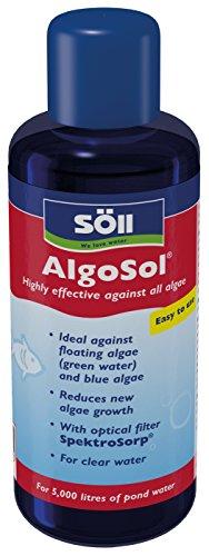 Söll Kompetenz im Wasser AlgoSol 250 ml Prodotti per la Cura del laghetto, Rosso, 4 unità