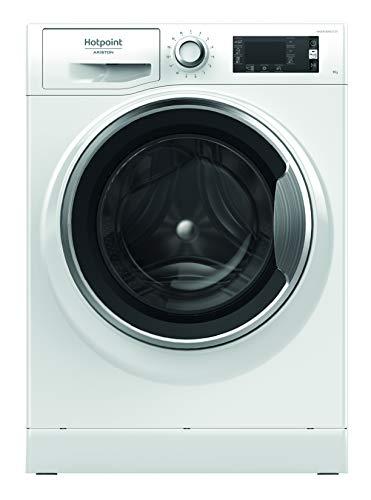 Hotpoint NLLCD 946 WC A EU, Lavatrice a Carica Frontale a Libera Installazione, A+++-30%, 9kg 1400...