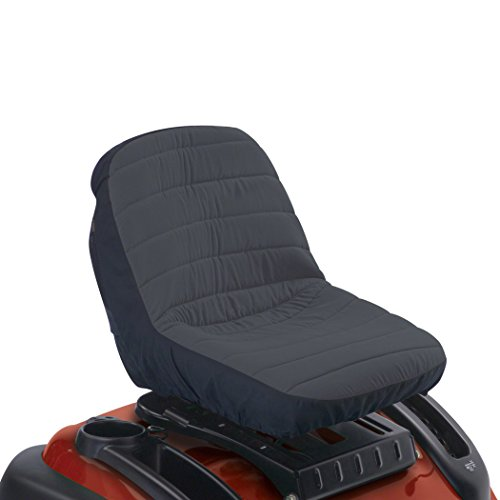 Classic Accessories Deluxe Riding Lawn Mower Seat Cover, Medium