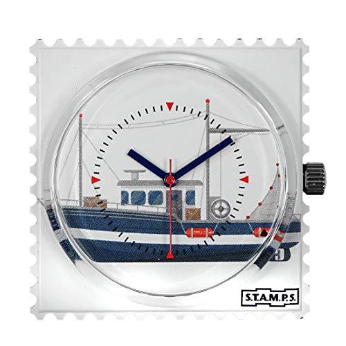Stamps Femme Uhr Analogique Quartz mit Plastique Armband 105497