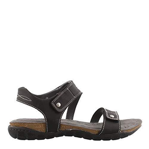 Khombu Women's, Solace Sandals Black 8 M