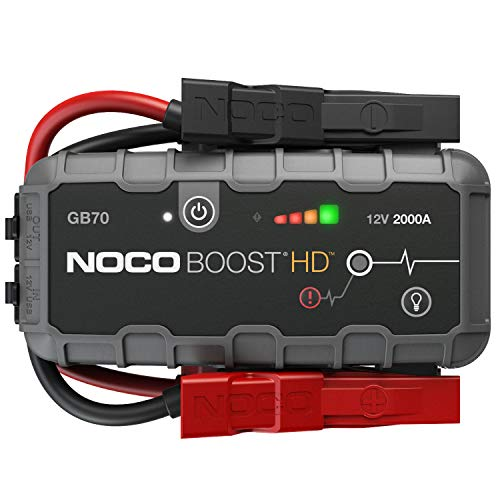 NOCO Boost HD GB70 2000 Amp 12-Volt UltraSafe Portable Lithium Car Battery Jump Starter Pack For Up...