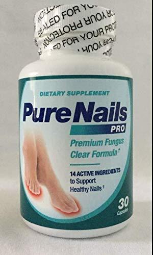 Pure Nails Pro Premium Fungus Clear Formula - 30 CT Capsules