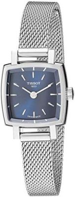 Tissot womens Lovely Stainless Steel Dress Watch Grey T0581091104100