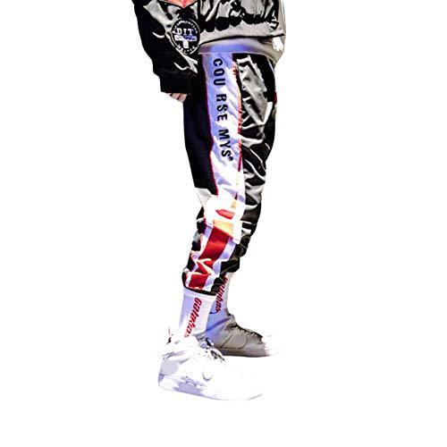 Irypulse Pantalóns de Jogging Deportivos Casuales para Homb
