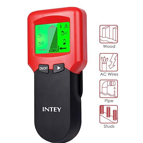 INtey 3-in-1 Multifunction Detector | Voor metaal, hout en spanningskabels | Eenvoudig in het gebruik