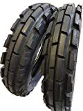 (2 TIRES + 2 TUBES) 6.00-16 ROAD CREW 6 PLY KNK33 Farm Tractor Tire 60016 6.00X16