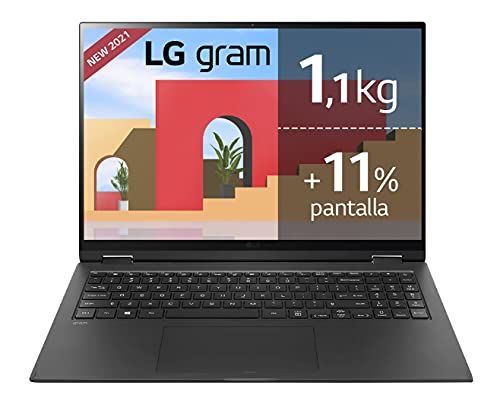 LG gram 16Z90P Windows 10 Home, Ultraligero de 40.6 cm (16')...