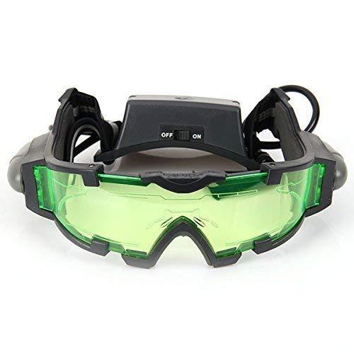 Gearmax® Gafas de Visión Nocturna con Azul Flip-fuera Llevaron Luces 1