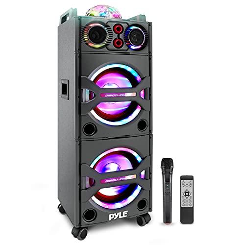 Pyle Portable Bluetooth PA Speaker System - 2000W...