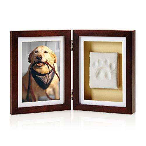 Pearhead Dog or Cat Paw Print Pet Keepsake Photo...