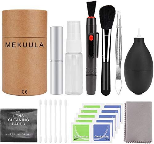 カメラクリーニング キット レンズクリーナー 一眼レフ用 掃除用品 MEKUULA 清掃簡単 ブロアー/レンズペン...