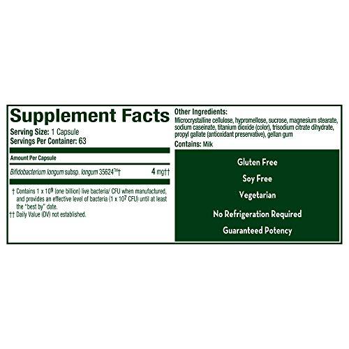 Align Probiotics Supplement, 63 Capsules, Natural Strain Probiotic Digestive Support for Adult Men and Women 9