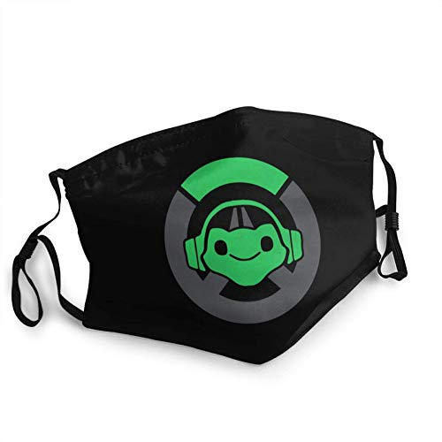 Lucio Overwatch Video Game Balaclava Adult Face Mask Dust Mouth Cover Adjustable Elastic-1 PCS Face...