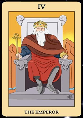 The Emperor: Tarot Card Journal, Divination Journal, Magic...