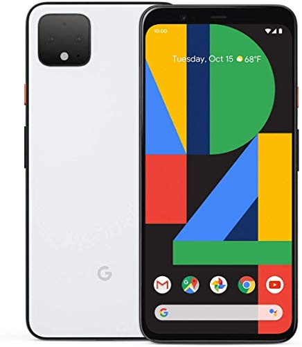 Google Pixel 4 Smartphone, 64 GB, wit, Android 10