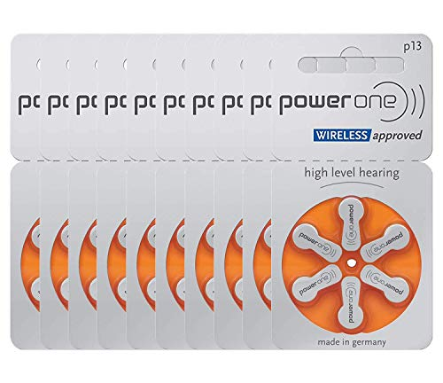 Power One Size 13 Batteries P13