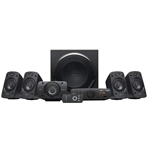 Logitech Z906 5.1 Surround Sound Speaker System - THX, Dolby Digital...