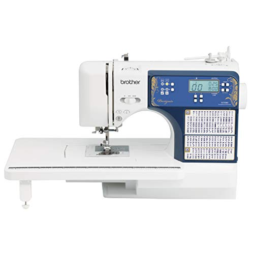 Brother Sewing and Quilting Machine, DZ3000, 240 Built-in Stitches, LCD Display, Wide Table, 14 Included Sewing Feet