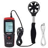Anémomètre USB à Haute Précision, GT8907 Thermomètre Numérique pour...
