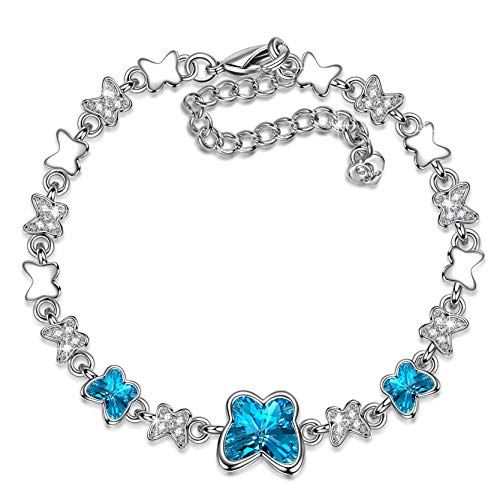 LADY COLOUR Gifts for Her Bracelet for Women Butterfly...