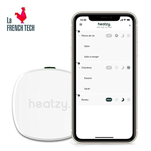 HEATZY - Objet Connecté - Programmateur/Thermostat Connecté et Intelligent...