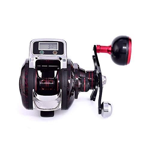 Hifanei Mulinello per colata con esca Mulinello per cinture di pesca 14 + 1 Cuscinetto a sfere BB per colate esche 6.3: 1 Ruota per bobine di pesca a un senso