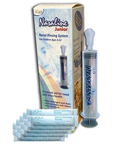 Squip Nasaline Junior Nasal Rinsing System, 3.1 Ounce