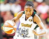 100% Certified Authentic and Backed by our Sports Memorabilia Authenticity Guarantee Category; Autographed WNBA Photos