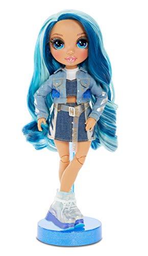 Image 2 - Rainbow High Poupée Mannequin - Skyler Bradshaw – Poupée thème bleu avec tenues luxueuses, accessoires et socle - Série 1 - Parfait pour les filles de 6 ans et plus