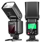 Neewer NW635 TTL GN58 Blitz Speedlite mit LCD Display Kompatibel mit spiegellosen Sony MI Blitzschuhkameras A9II A9 A7RIV/III/II A7III/II A7SII A6600 A6500 A6400 A6300 A6000 A99II A77II RX10II/III/IV
