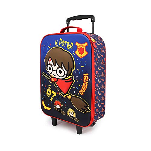 Harry Potter Quidditch-Valigia Trolley Soft 3D