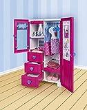 L'armadio guardaroba delle bambole Nancy
