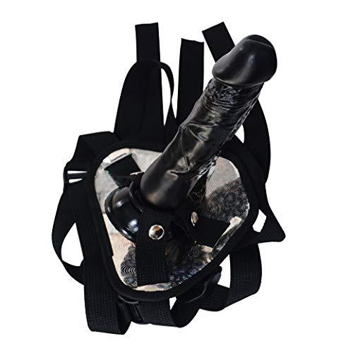 CaoeUmOne Anǎldǐldò, Schwarz Fantasie Huge Cup Privatkörper Paket Realistisch Große Rotaing Männer Vergnügen Spielzeug Absaug- Geschenk L: 20 cm, D: 4cm