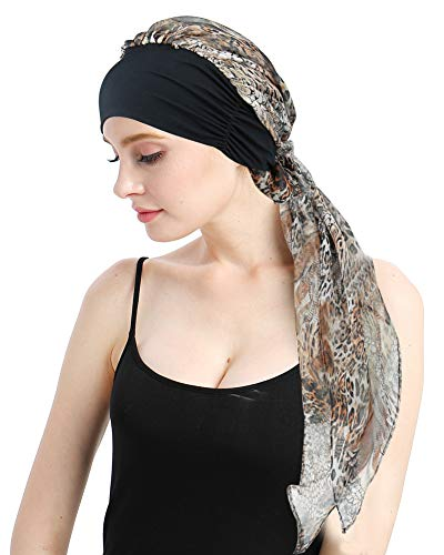 FocusCare Damen Chemo Turban hüte mütze schal Kopfbedeckung für krebspatienten