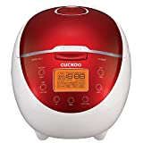 Cuckoo CR-0655F Rice Cooker & Warmer, 6 Cups, LCD-Display 11-Menu Options, Turbo, Mixed, and...