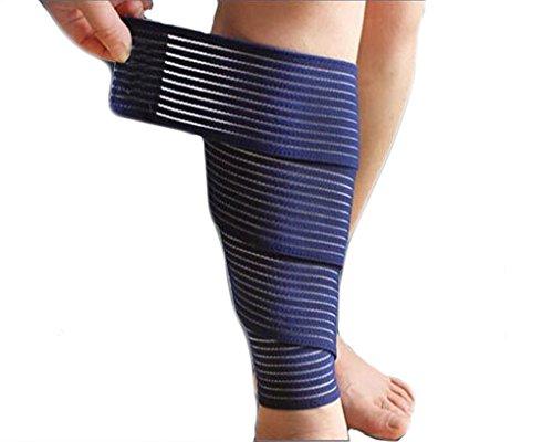 Afinder, fascia elastica avvolgente per polpaccio, fascia di supporto per sport all'aria aperta...