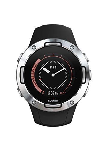 Suunto 5 Reloj Deportivo, Unisex-Adult, Negro/Plateado, One Size