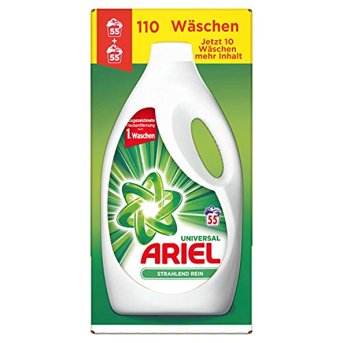 Ariel Universal Waschmittel Flüssig, 6,05l– 1er Pack (1 x 110 Waschladungen)