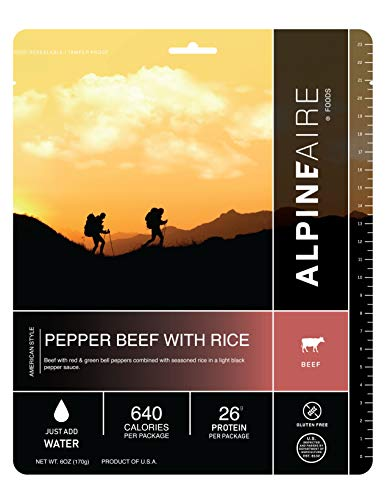 Alpine Aire 60402C Pepper Beef with Rice