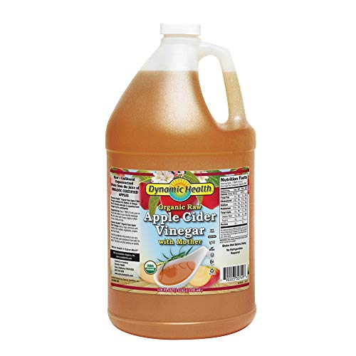 Dynamic Health Certified Organic - Raw Apple Cider Vinegar