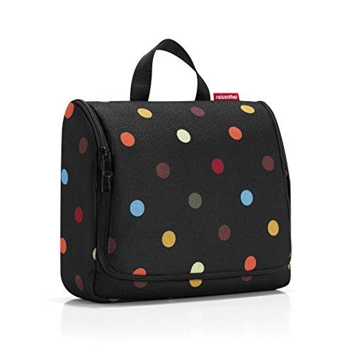 reisenthel toiletbag XL dots  Maße: 28 x 25 x 10 cm / Maße: 28 x 59 x 9 cm expanded / Volumen: 4 l