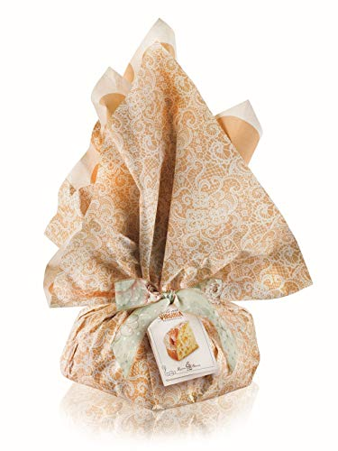 Colomba Tradizionale - Confezione ciuffo floreale Lilla - 1000g