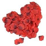 DigHealth 2000pcs Petale de Rose, Pétales de Roses Mariage, Rosé Pétale de Rose Artificielle, Pétale de Fleur pour Décoration, La Saint-Valentin et Baptême