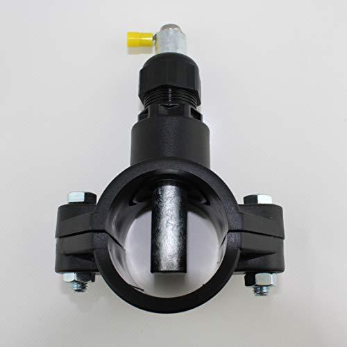 EDENEA Anode De Mise A La Terre pour Piscine - Diam 50mm - Anti Corrosion galvanique - Indispensable avec Un Électrolyseur Au Sel - pour Canalisation Tube PVC Diamètre 50
