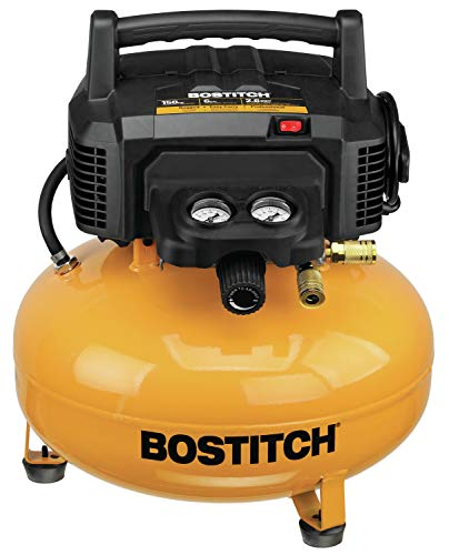 BOSTITCH 6 Gallon Pancake Air Compressor