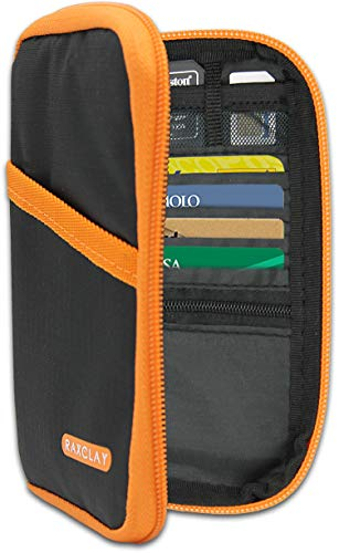Portefeuille de Voyage RFID Porte Passeport Compacte Documents 2ème...